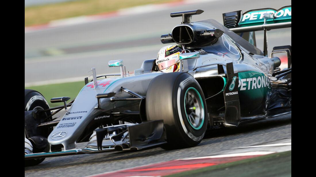 Mercedes S-Schacht - Barcelona Test - 2016