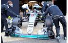 Mercedes - S-Schacht - F1-Test - Barcelona 2016