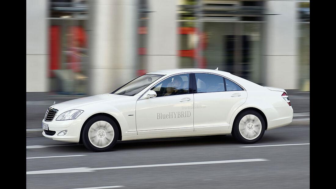 Mercedes S400 Blue Hybrid 2008