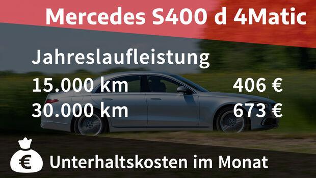 Mercedes S400 d 4Matic