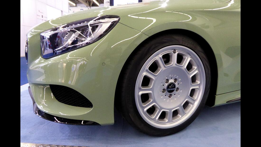 Mercedes S500 Carlsson Diospyros - Felgen - IAA 2017