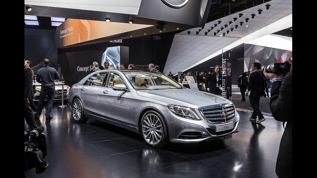 Mercedes S600 S-Klasse Sperrfrist 13.1.2014 17.00 Uhr