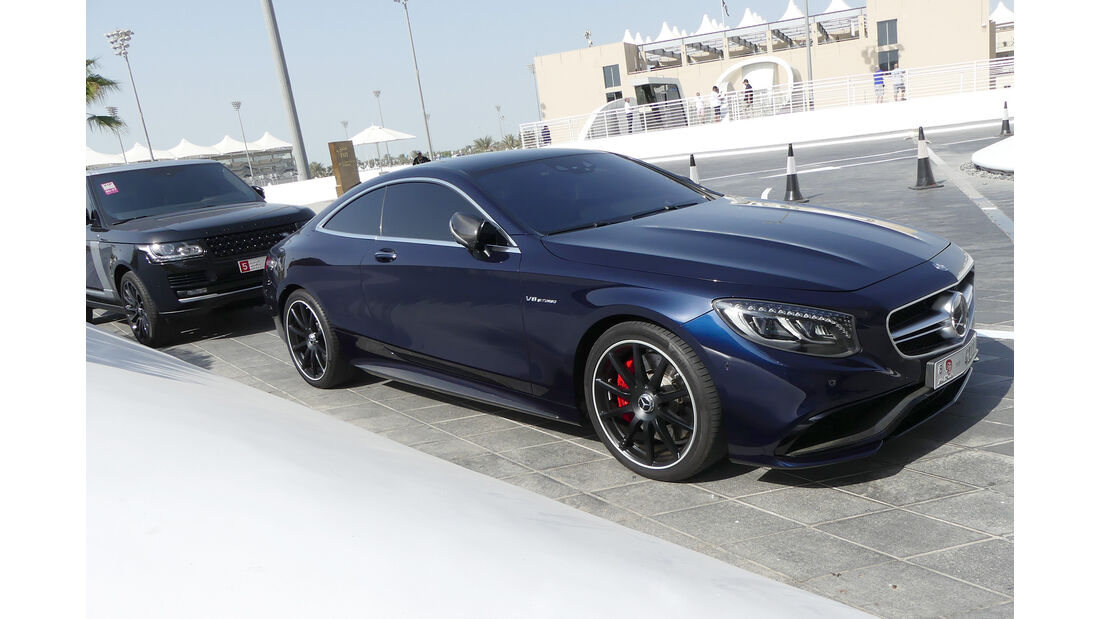 Mercedes S63 AMG Coupé - Carspotting - GP Abu Dhabi 2016