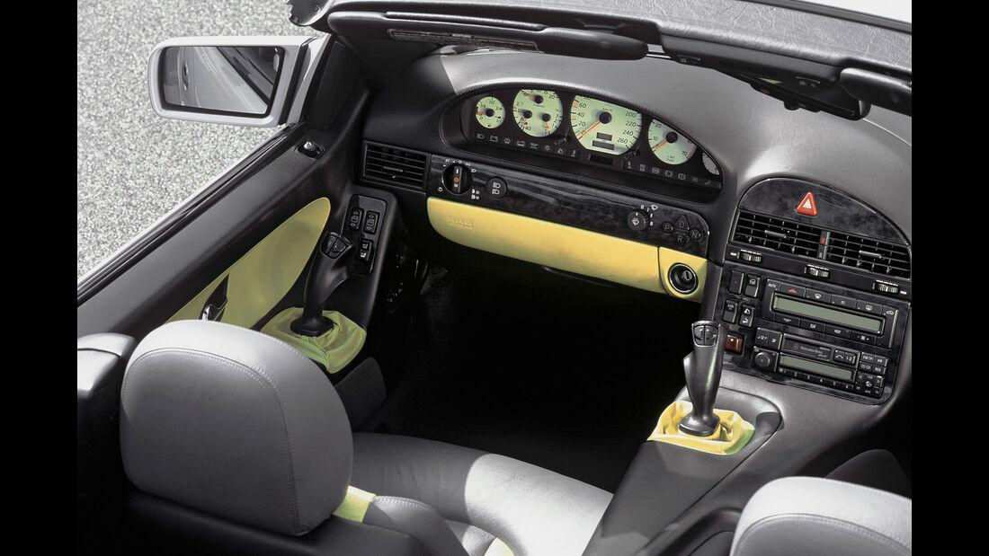 Mercedes SL 1998 - Studie - Side-Sticks - Innenraum