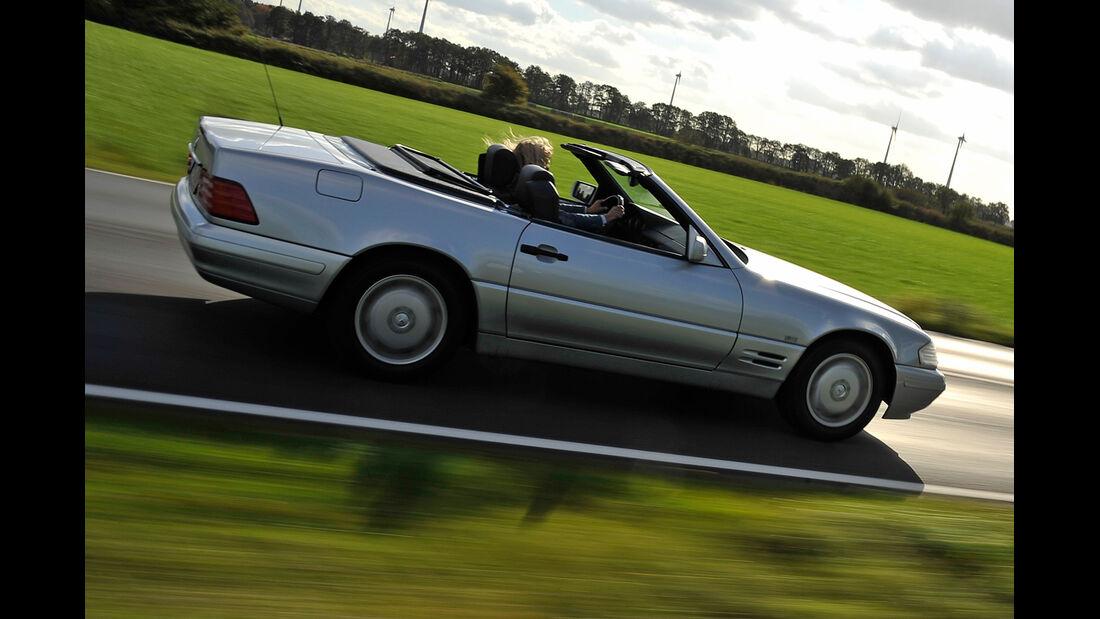 Mercedes SL 280, Seitenansicht