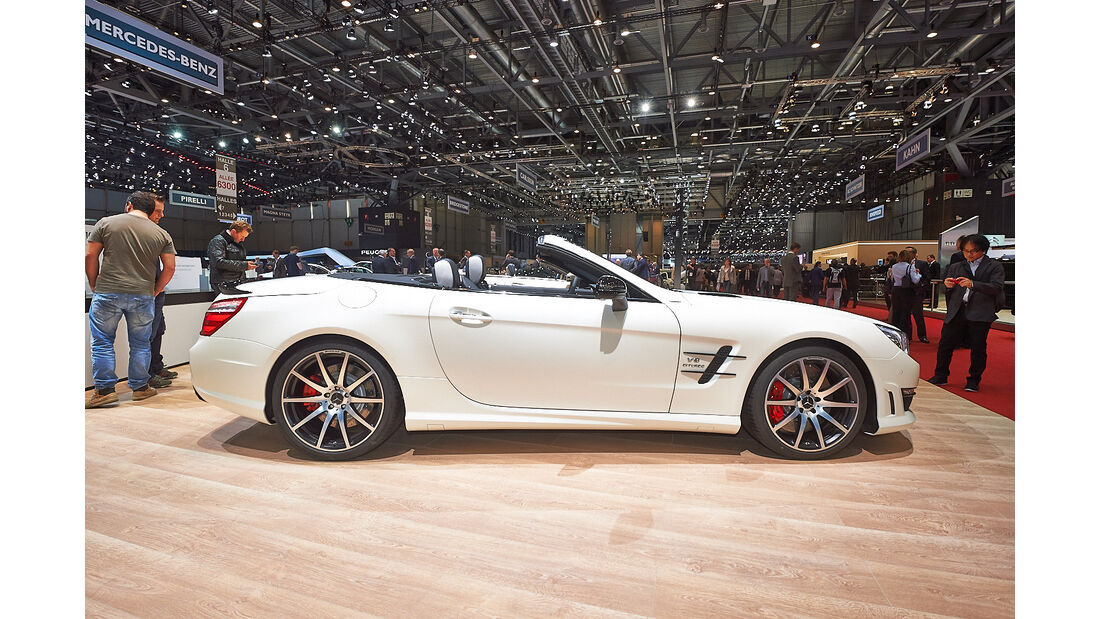 Mercedes SL 2Look Edition, Genfer Autosalon, Messe, 2014