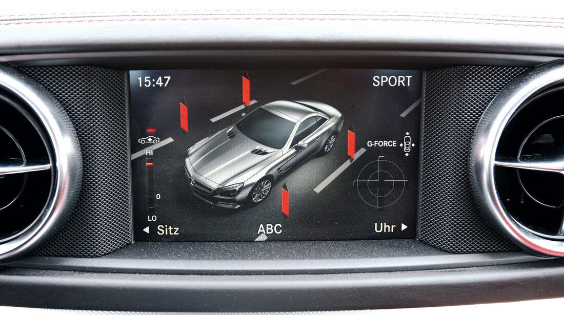 Mercedes SL 350, Bidschirm, Display