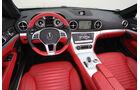 Mercedes SL 350, Cockpit, Lenkrad
