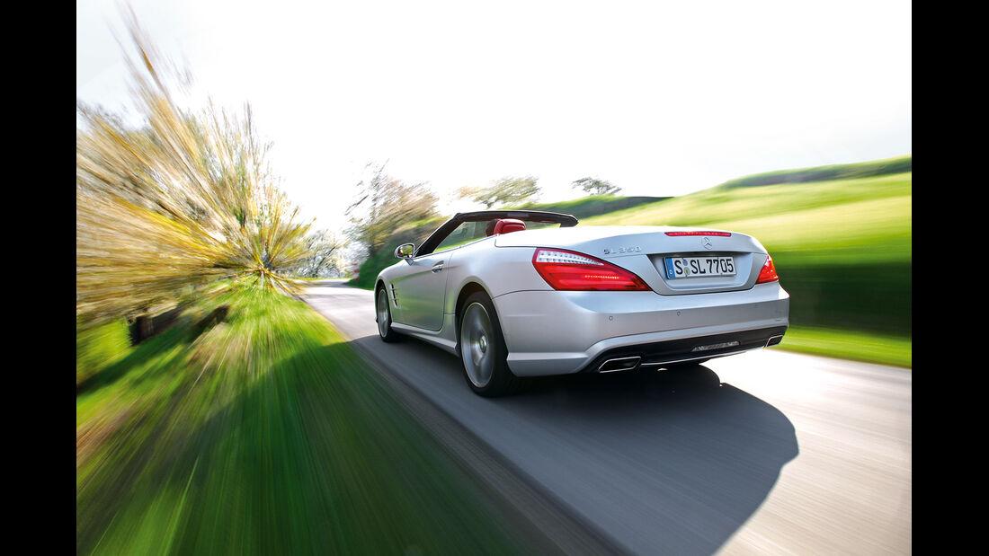 Mercedes SL 350, Heck