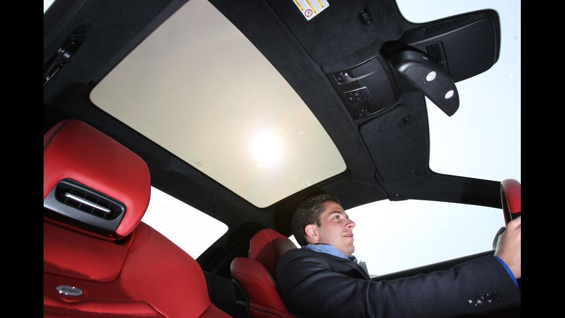 Mercedes SL 350, Himmel, Innenruam