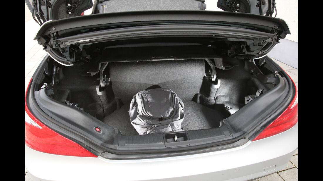 Mercedes SL 350, Kofferraum