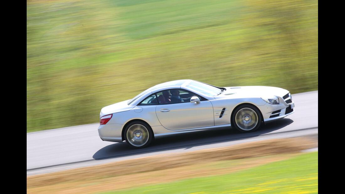 Mercedes SL 350, Seitenansicht