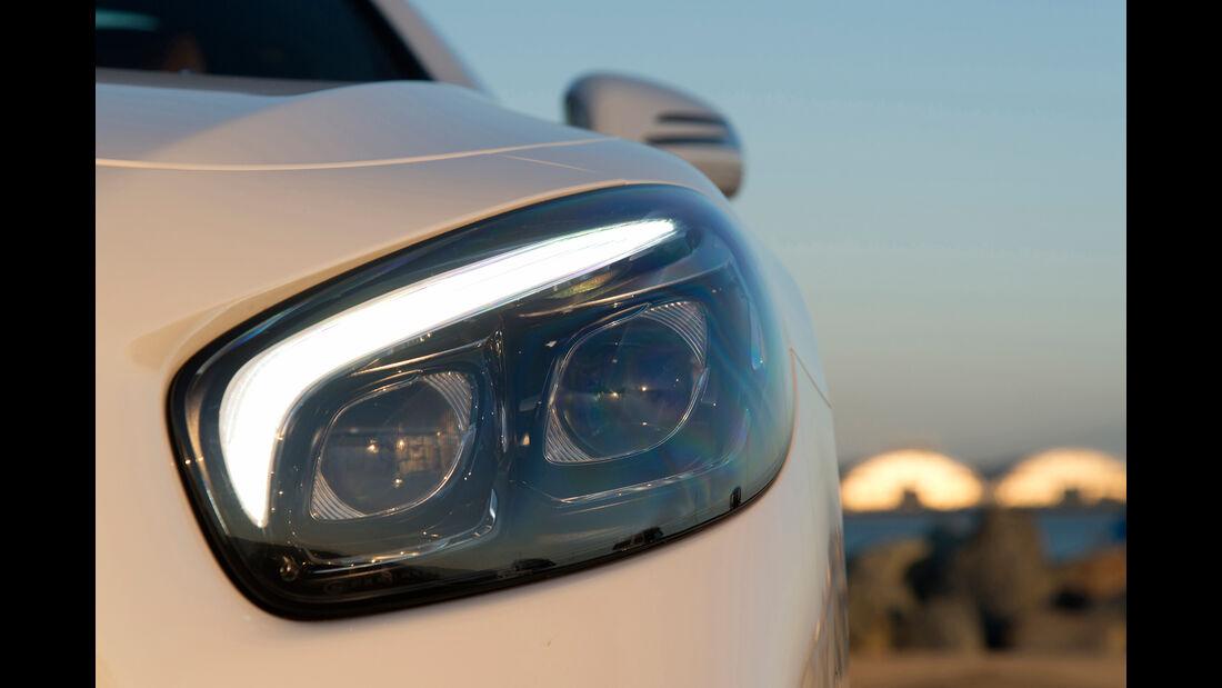 Mercedes SL 400, Frontscheinwerfer