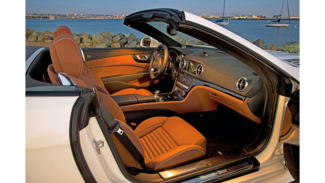 Mercedes SL 400, Interieur, Sitze