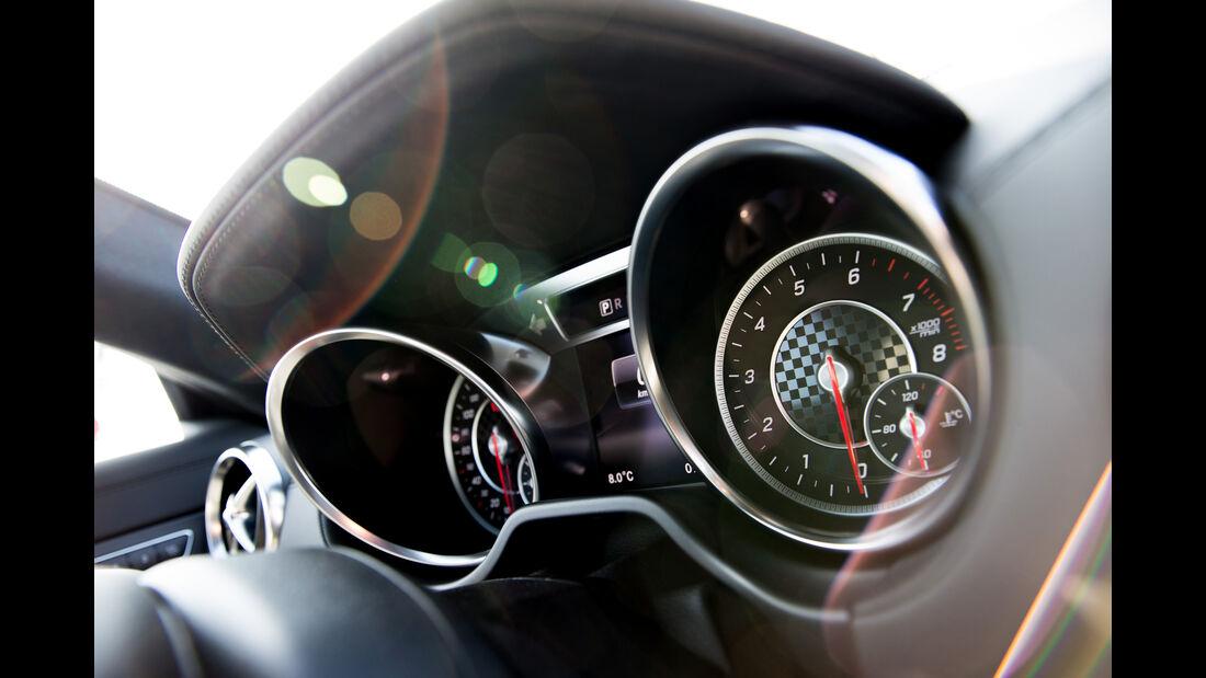 Mercedes SL 400, Rundinstrumente