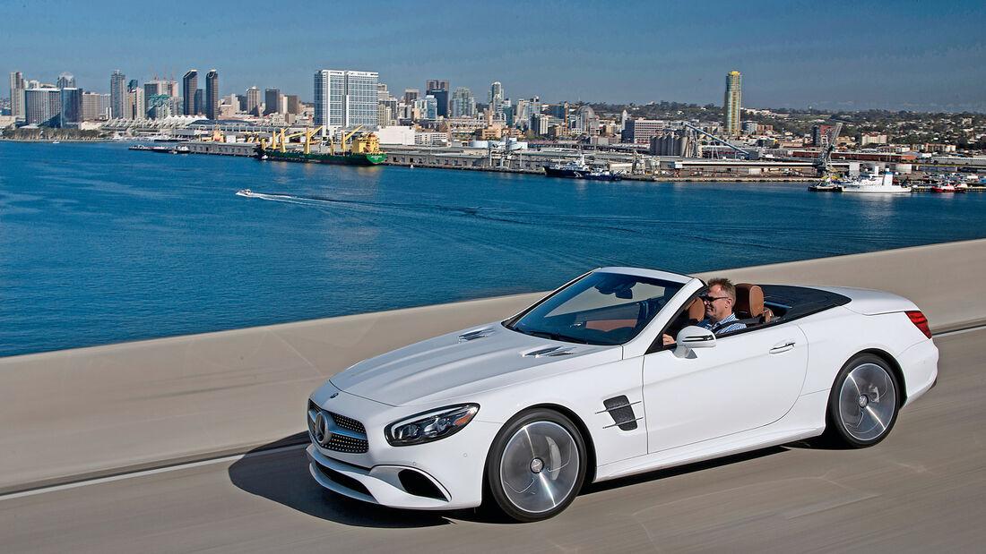Mercedes SL 400, Seitenansicht