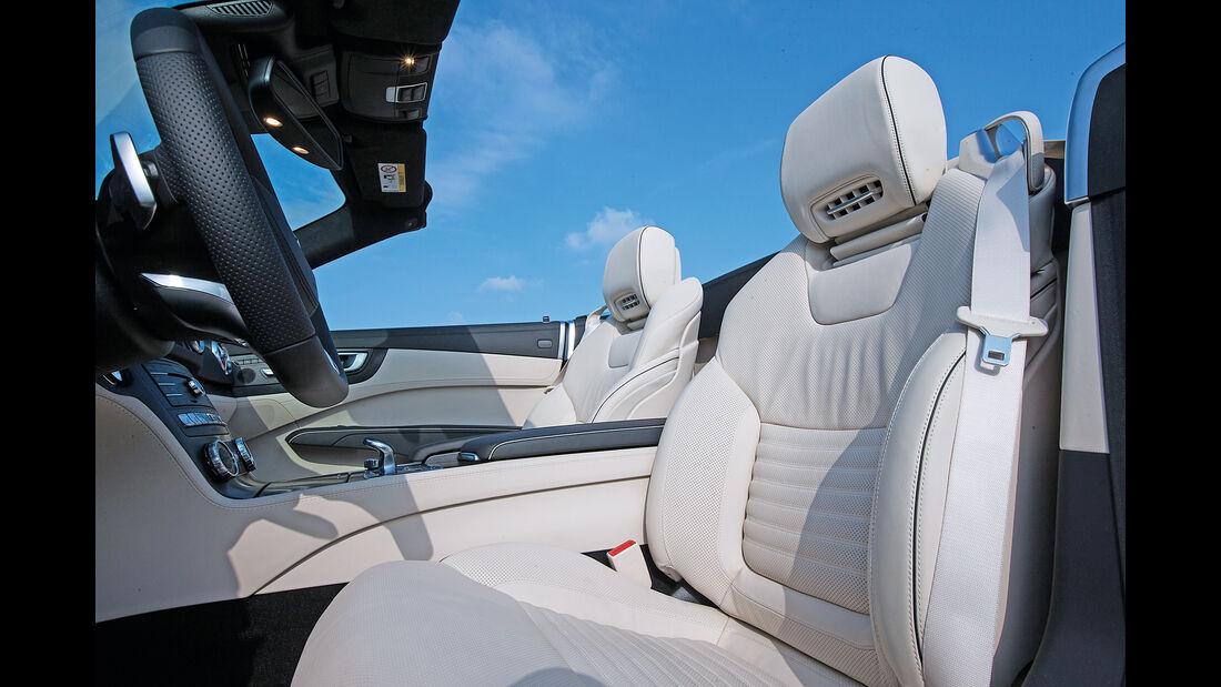 Mercedes SL 400, Sitze