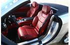 Mercedes SL 500, Fahrersitz, Vordersitze