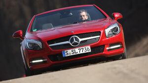 Mercedes SL 500, Frontansicht