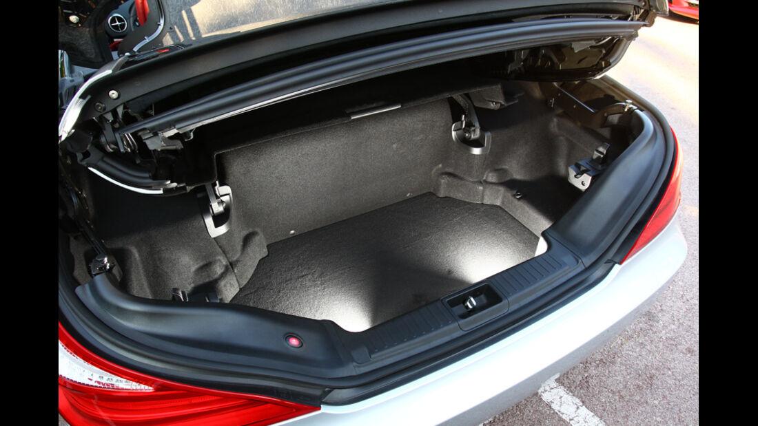 Mercedes SL 500, Kofferraum