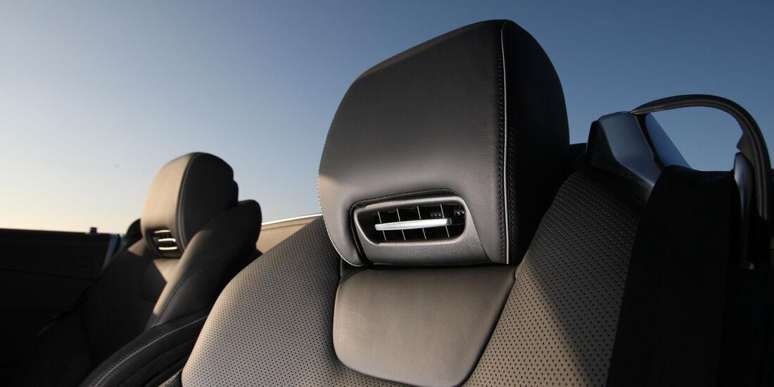 Mercedes SL 500, Nackenfön, Kopfstütze