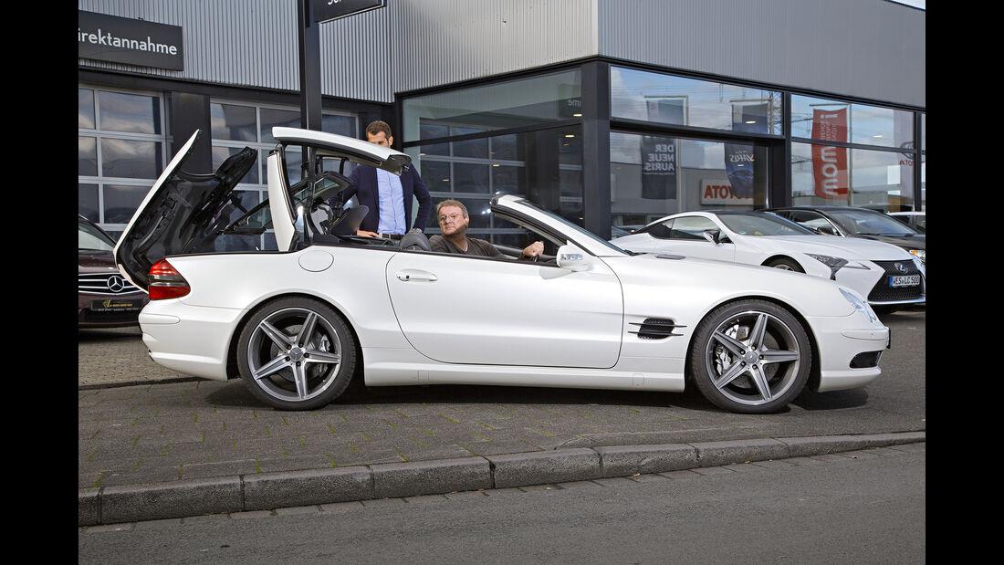 Mercedes SL 55 AMG, Exterieur, Verdeck