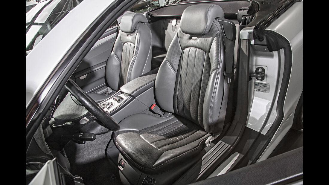 Mercedes SL 55 AMG, Interieur