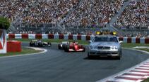 Mercedes SL 55 AMG - Safety Car - GP Kanada 2001 - Montreal