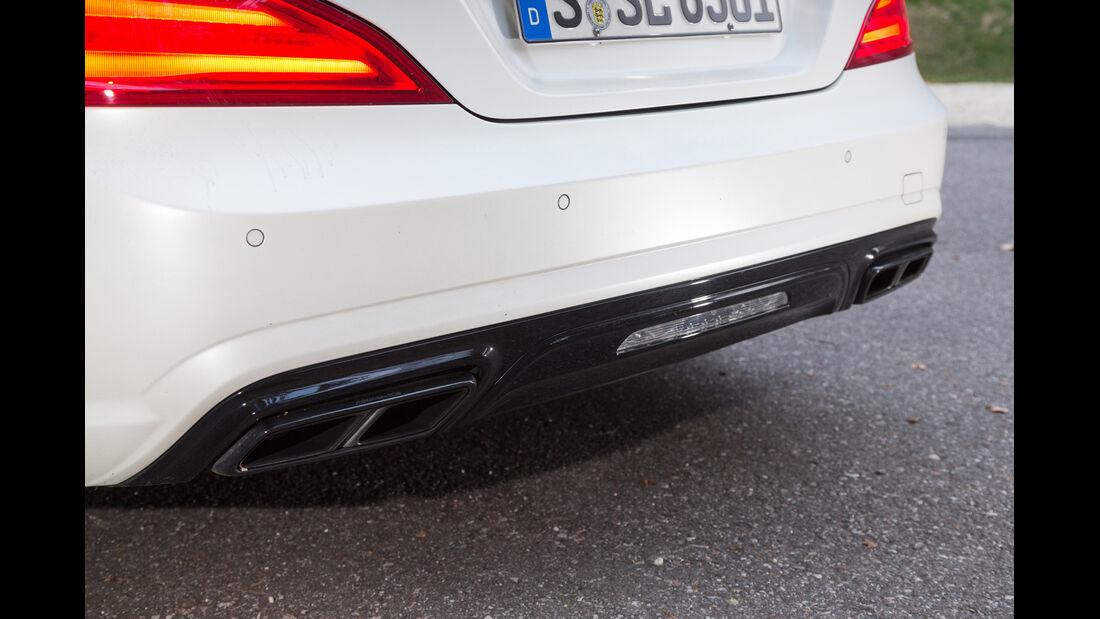 Mercedes SL 63 AMG, Auspuff, Endrohre