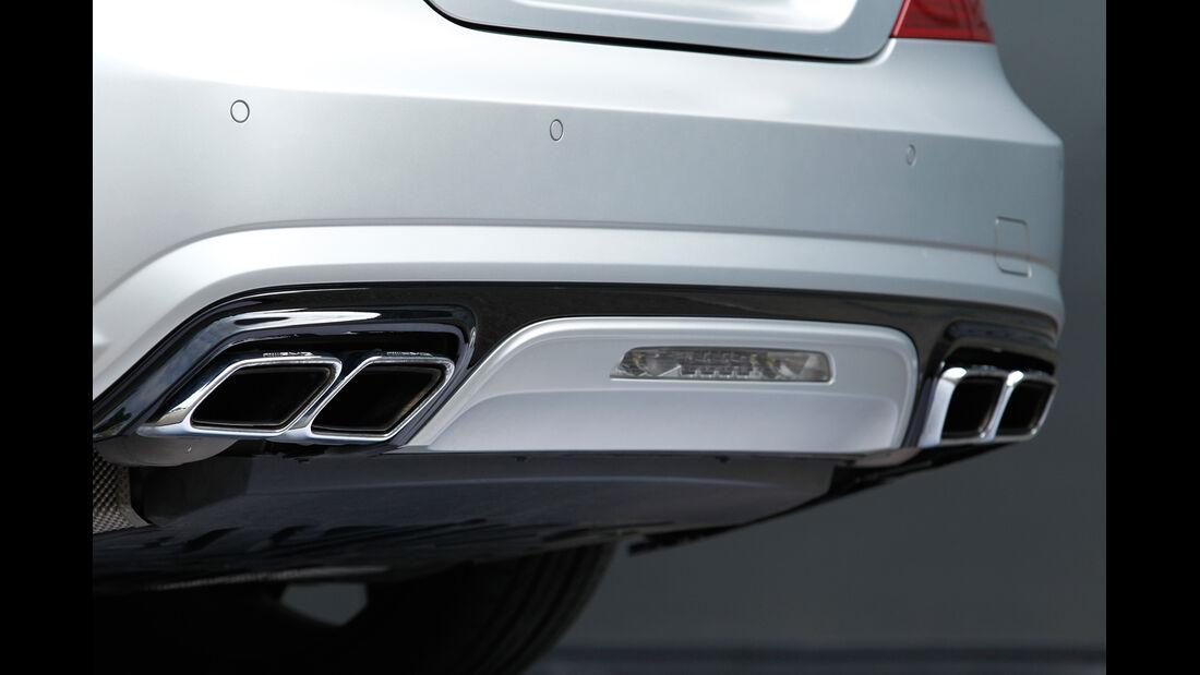 Mercedes SL 63 AMG, Endrohr, Auspuff