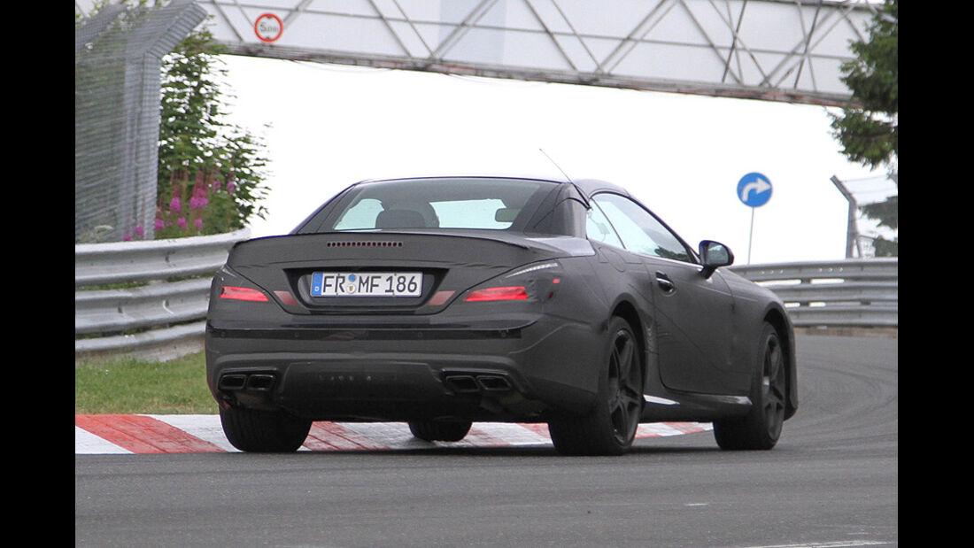 Mercedes SL 63 AMG Erlkönig