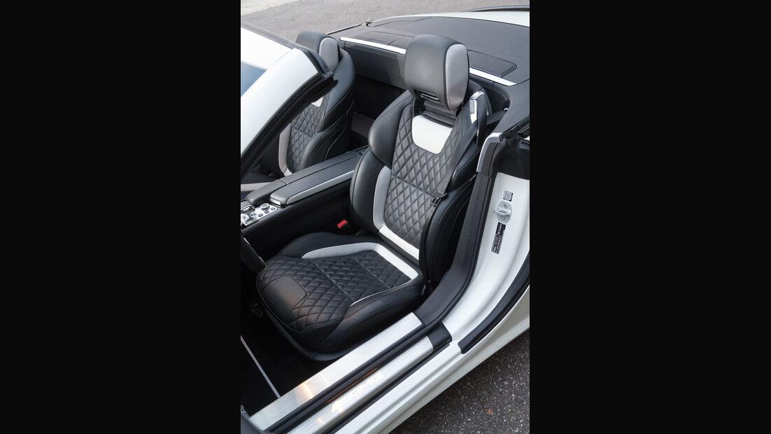 Mercedes SL 63 AMG, Fahrersitz
