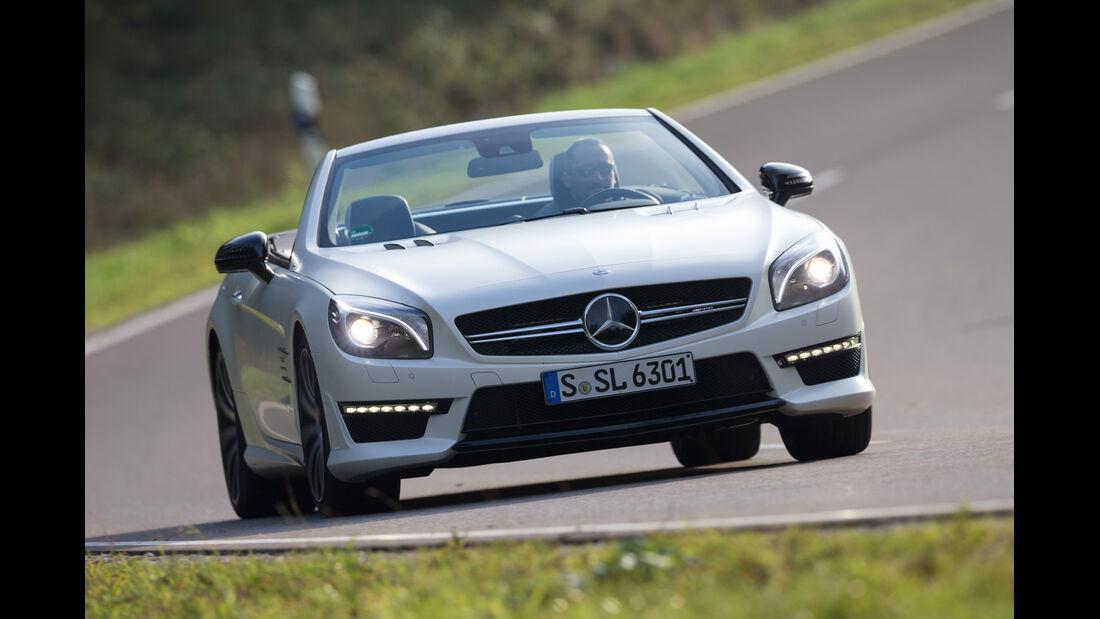 Mercedes SL 63 AMG, Frontansicht