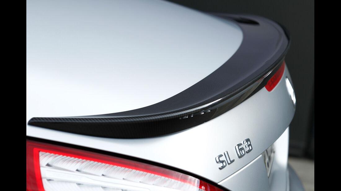 Mercedes SL 63 AMG, Heckspoiler