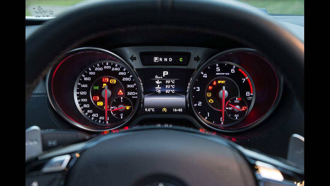 Mercedes SL 63 AMG, Rundinstrumente