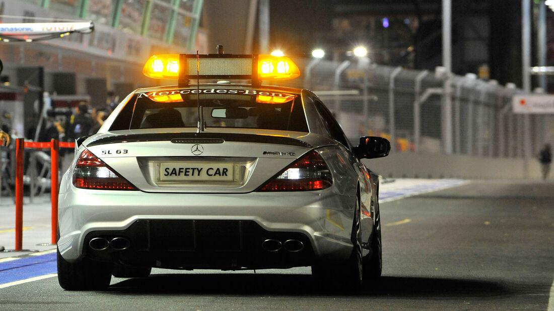 Mercedes SL 63 AMG - Safety Car - GP Singapur 2008