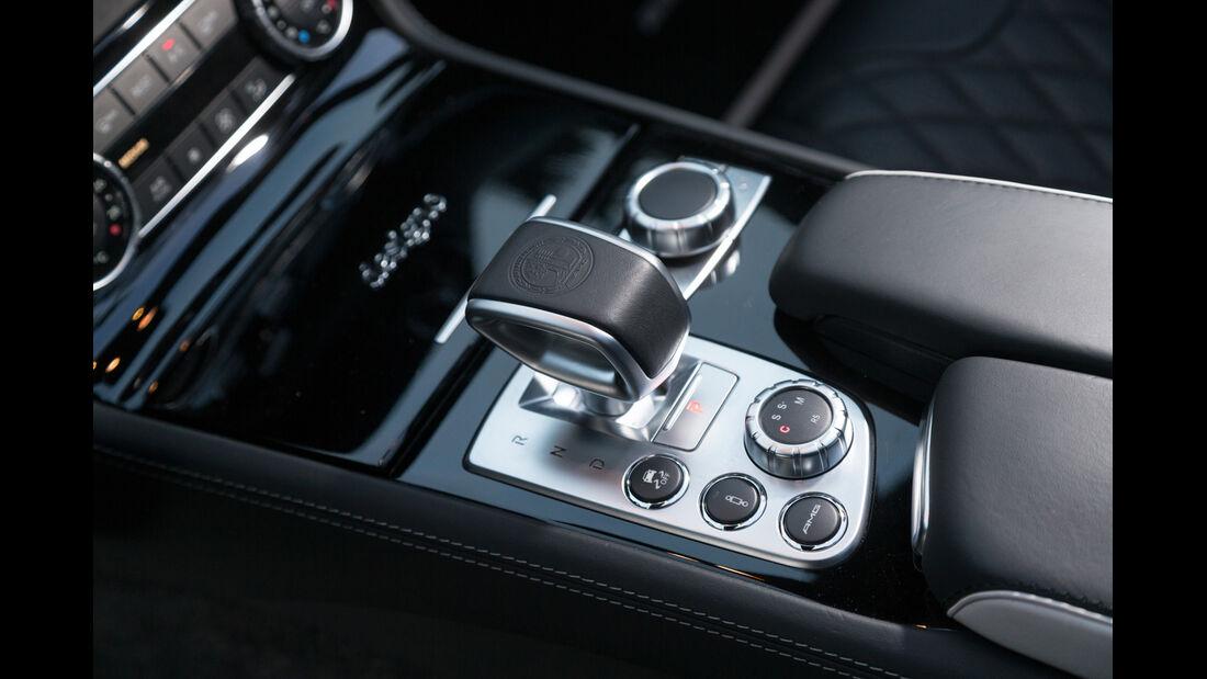 Mercedes SL 63 AMG, Schalthebel