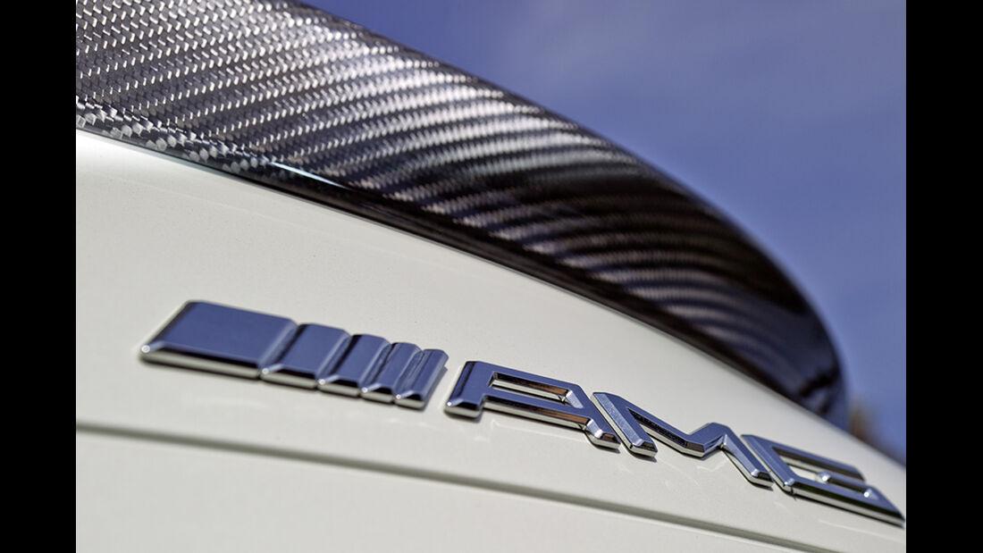 Mercedes SL 63 AMG, Schriftzug