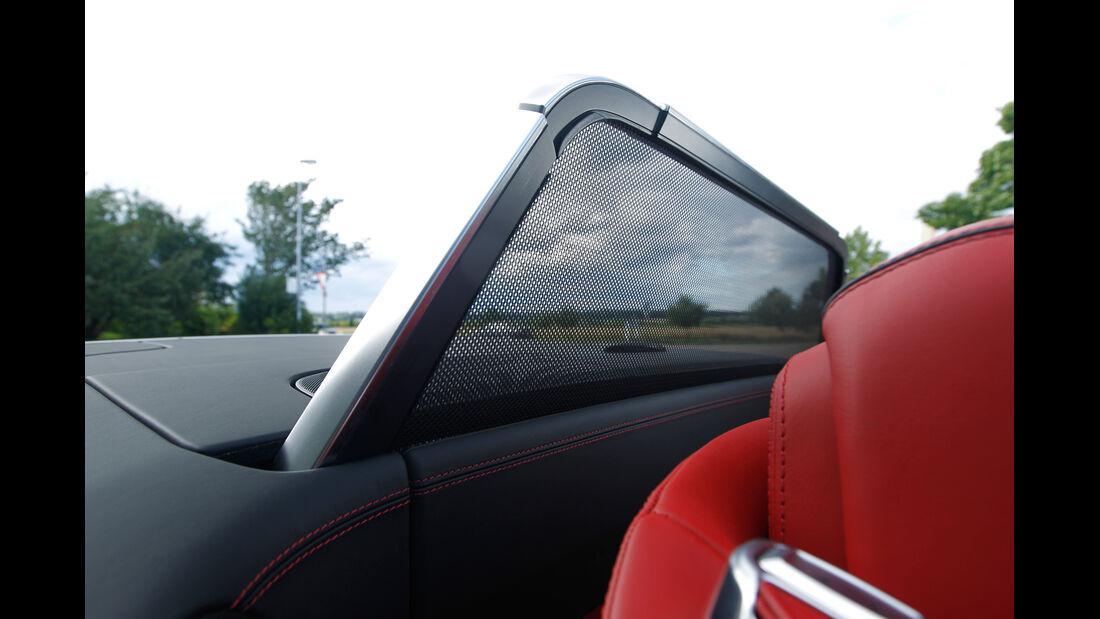 Mercedes SL 63 AMG, Windschott
