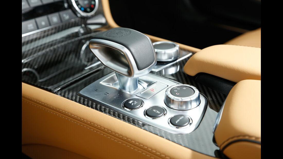 Mercedes SL 65 AMG, Bedienelemente, Mittelkonsole