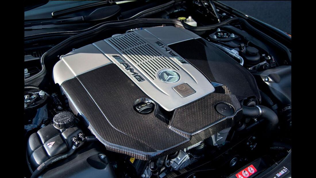 Mercedes SL 65 AMG Black Series - V12-Turbo
