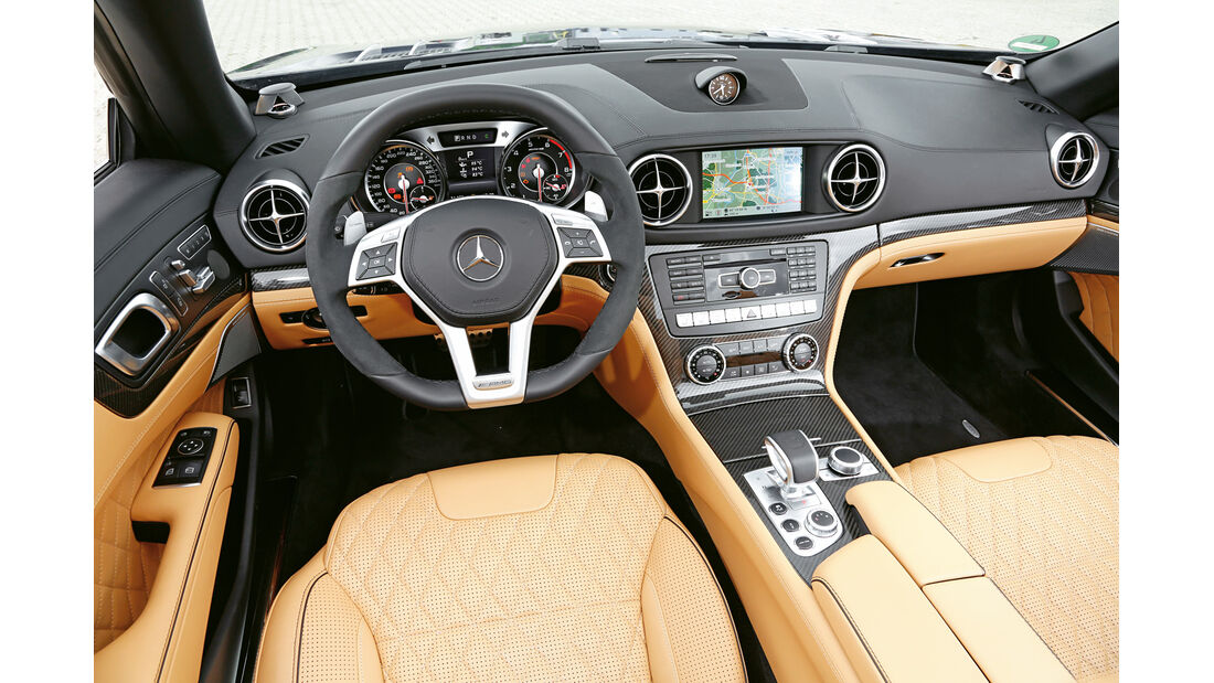 Mercedes SL 65 AMG, Cockpit