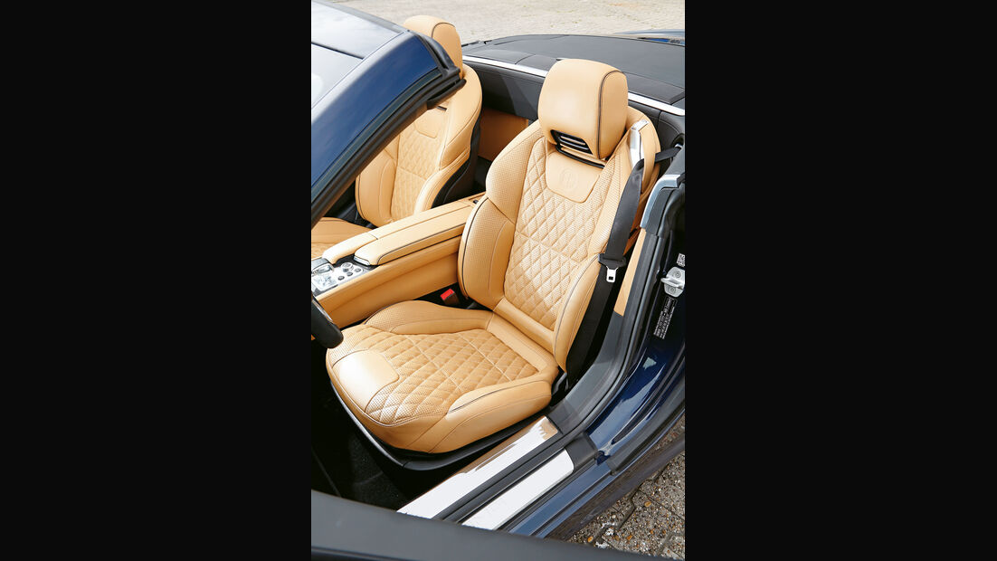 Mercedes SL 65 AMG, Fahrersitz