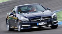 Mercedes SL 65 AMG, Frontansicht