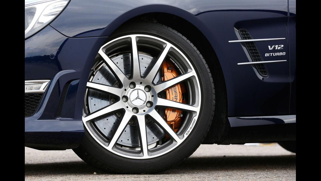 Mercedes SL 65 AMG, Rad, Felge, Bremse