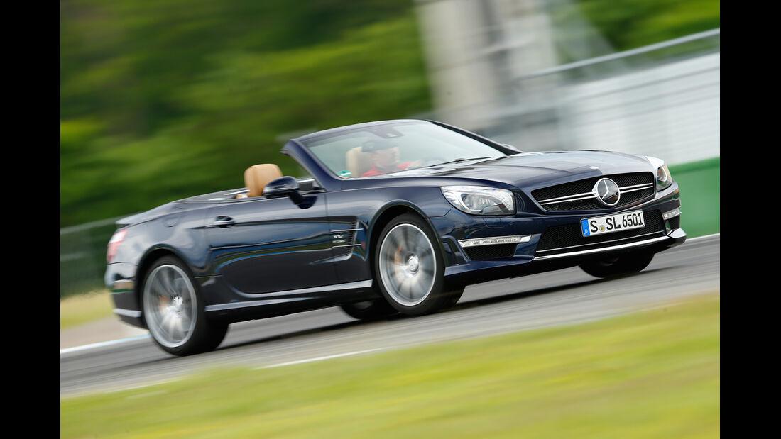 Mercedes SL 65 AMG, Seitenansicht