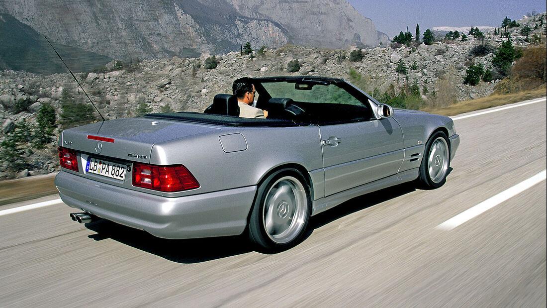 Mercedes SL 73 AMG, Exterieur