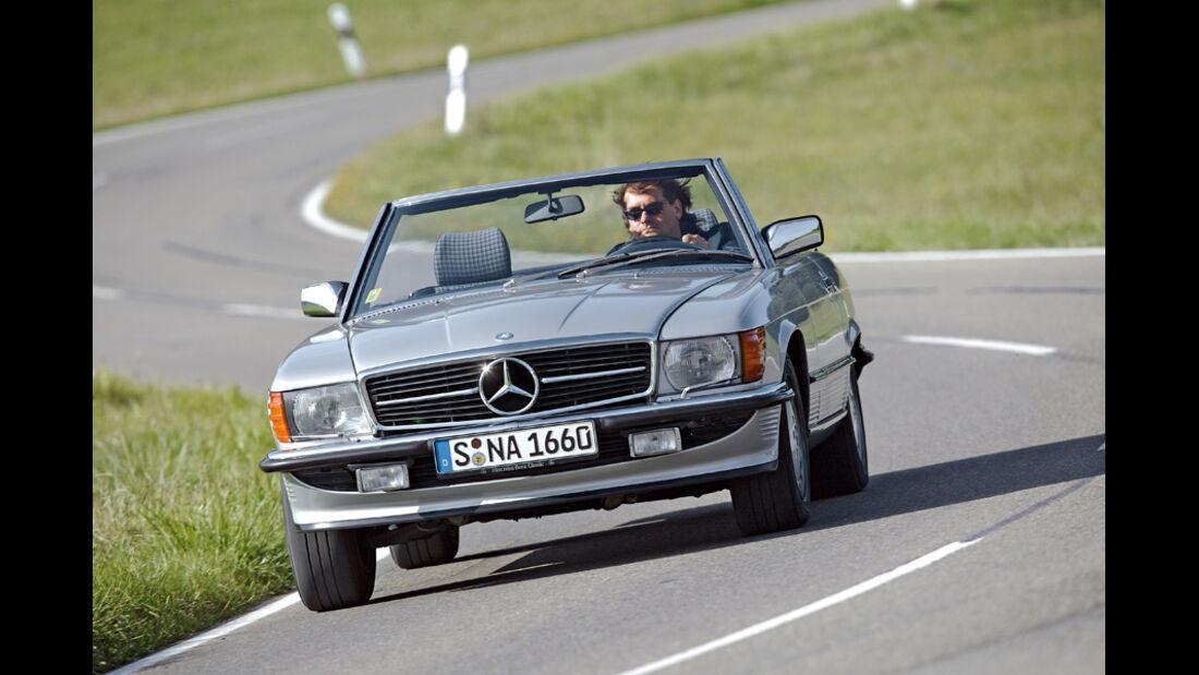 Mercedes SL, Front