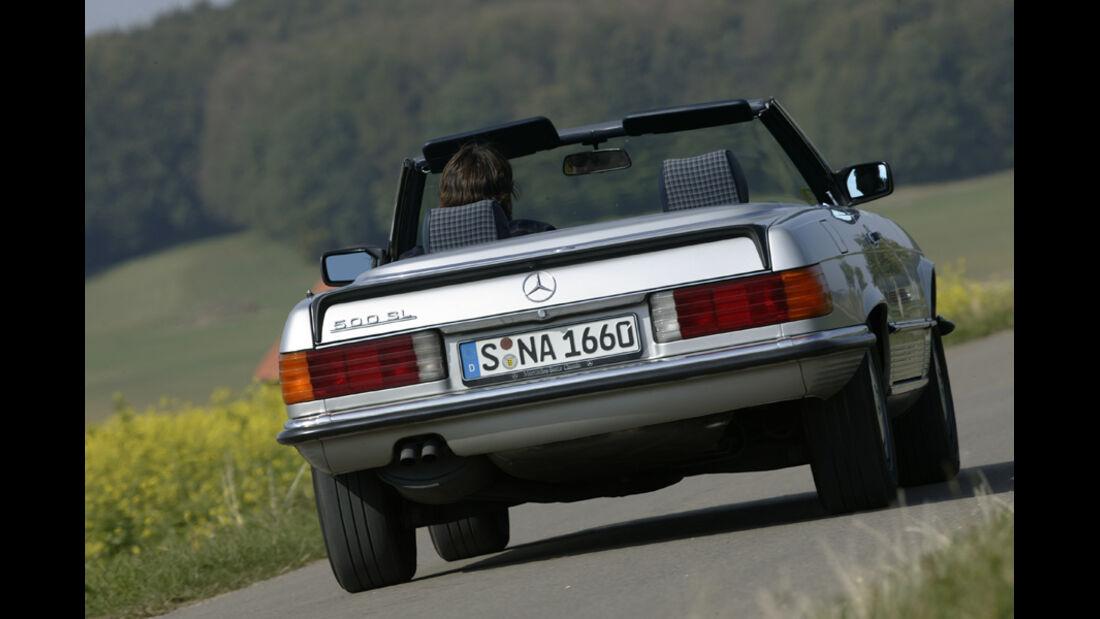 Mercedes SL, Heck