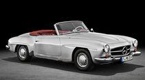 Mercedes SL Historie (1954-2021) W 121 190 SL